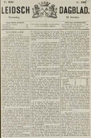 Leidsch Dagblad 1868-10-21
