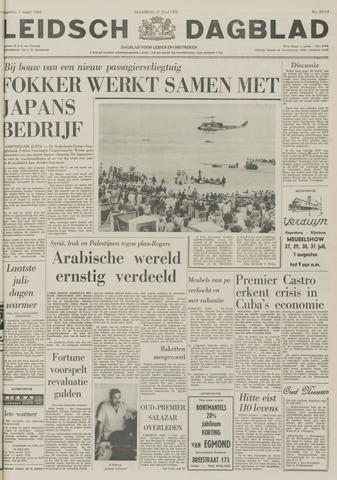 Leidsch Dagblad 1970-07-27