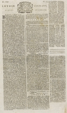Leydse Courant 1820-02-25