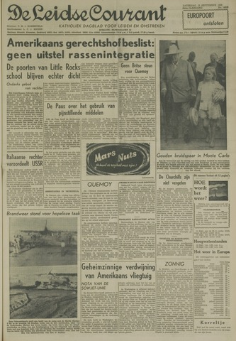 Leidse Courant 1958-09-13