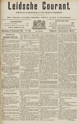 Leydse Courant 1885-09-23