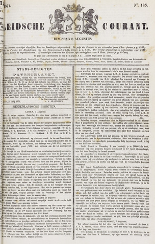 Leydse Courant 1871-08-08