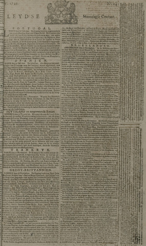 Leydse Courant 1749-11-24