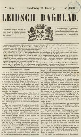 Leidsch Dagblad 1863-01-22