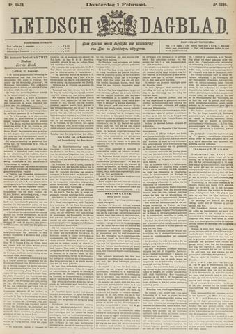 Leidsch Dagblad 1894-02-01