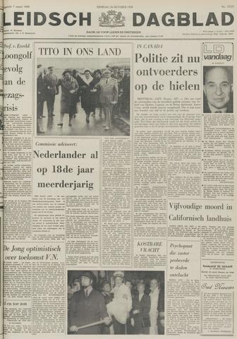 Leidsch Dagblad 1970-10-20