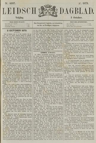 Leidsch Dagblad 1873-10-03