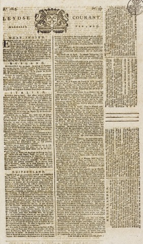 Leydse Courant 1815-05-03