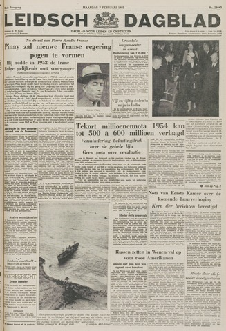Leidsch Dagblad 1955-02-07