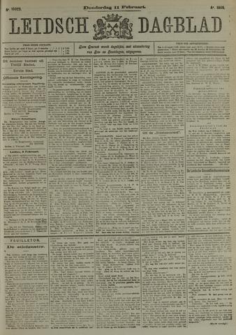 Leidsch Dagblad 1909-02-11