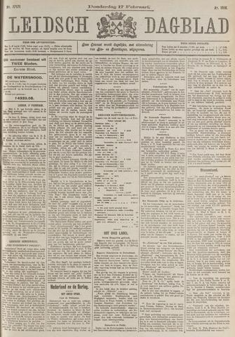 Leidsch Dagblad 1916-02-17