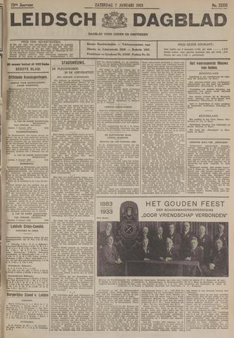 Leidsch Dagblad 1933-01-07
