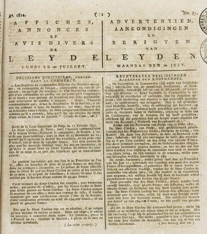 Leydse Courant 1812-07-20
