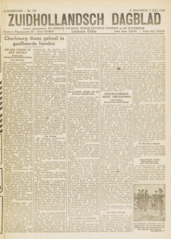 Zuidhollandsch Dagblad 1944-07-03