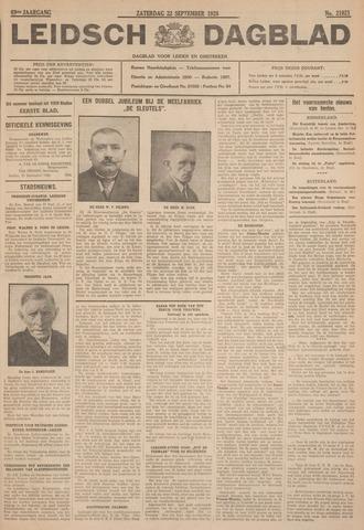 Leidsch Dagblad 1928-09-22