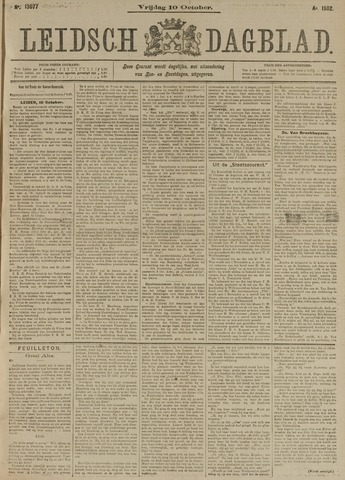 Leidsch Dagblad 1902-10-10