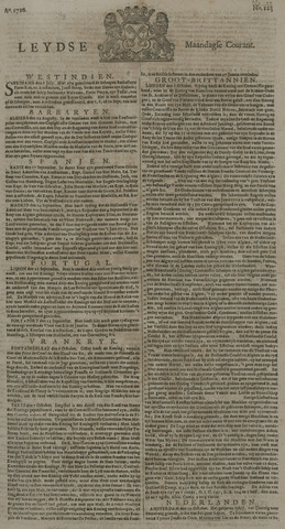 Leydse Courant 1726-10-14
