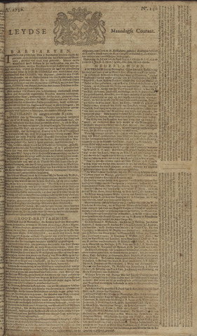 Leydse Courant 1756-11-22