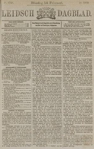 Leidsch Dagblad 1882-02-14