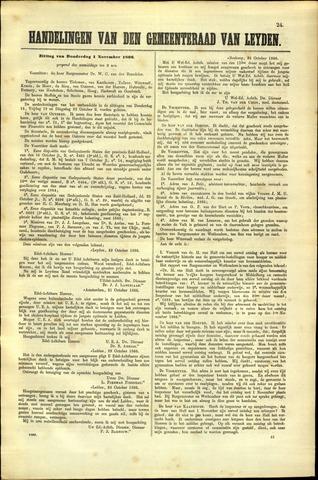 Handelingen van de Raad 1866-11-01