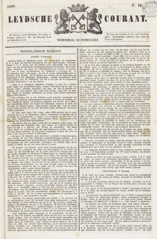 Leydse Courant 1869-02-10