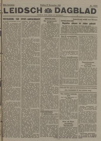 Leidsch Dagblad 1942-11-27