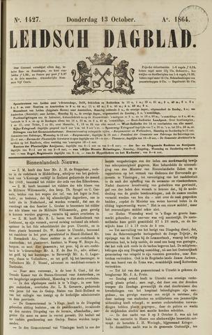 Leidsch Dagblad 1864-10-13