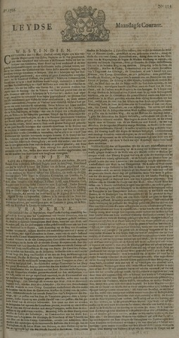 Leydse Courant 1722-10-05