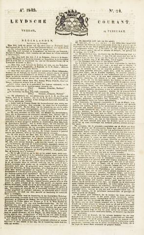 Leydse Courant 1843-02-24