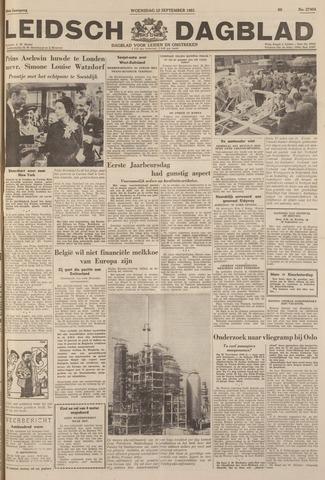 Leidsch Dagblad 1951-09-12