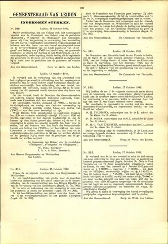 Handelingen van de Raad 1919-10-14
