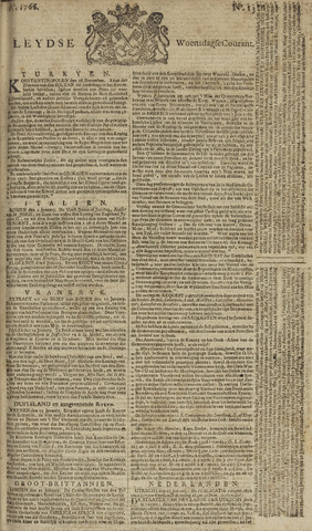 Leydse Courant 1766-01-29