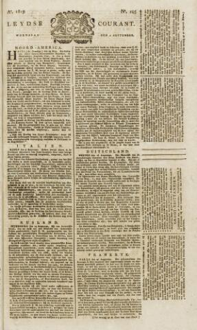 Leydse Courant 1819-09-01