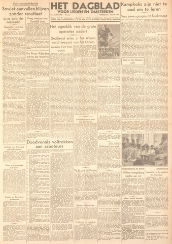 Dagblad voor Leiden en Omstreken 1944-03-01