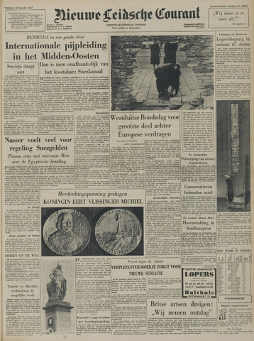 Nieuwe Leidsche Courant 1957-03-22