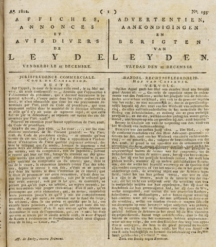 Leydse Courant 1812-12-25