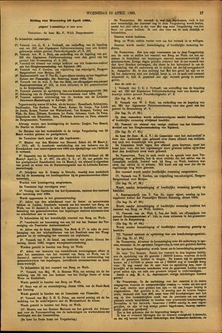 Handelingen van de Raad 1895-04-10