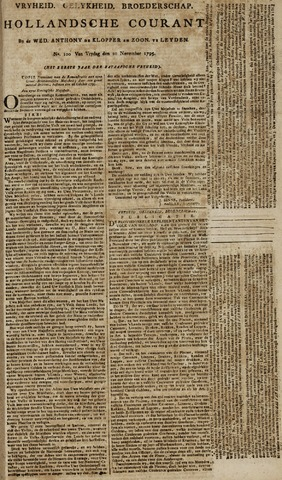Leydse Courant 1795-11-20