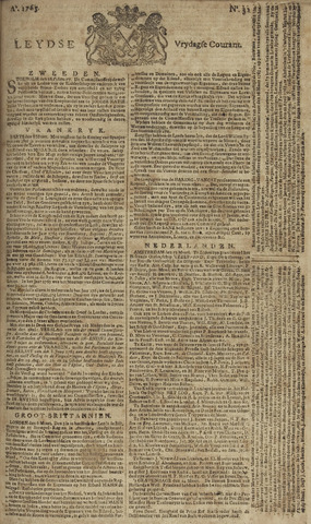 Leydse Courant 1765-03-15