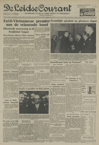 Leidse Courant 1955-04-30