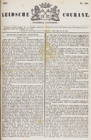 Leydse Courant 1882-11-02