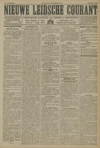 Nieuwe Leidsche Courant 1927-12-23