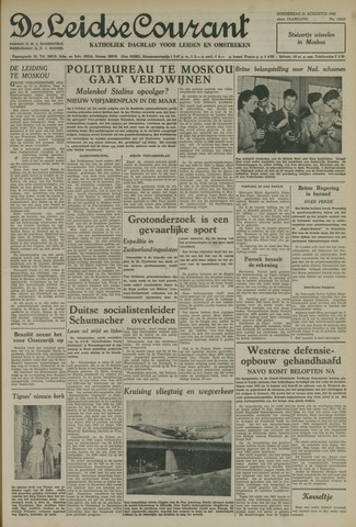 Leidse Courant 1952-08-21