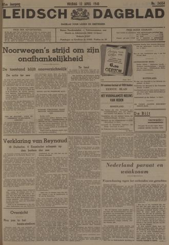Leidsch Dagblad 1940-04-12
