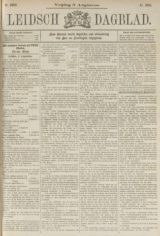 Leidsch Dagblad 1892-08-05
