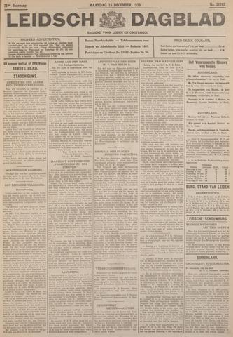 Leidsch Dagblad 1930-12-15