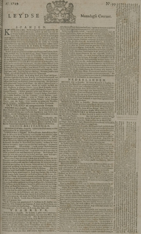 Leydse Courant 1749-08-18