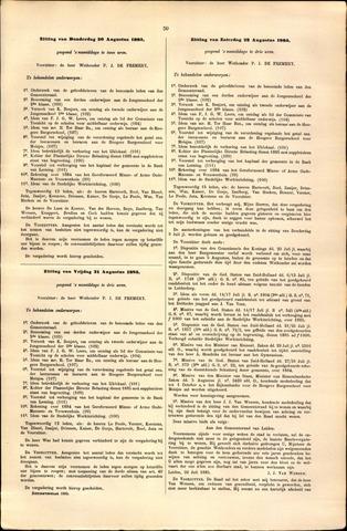 Handelingen van de Raad 1885-08-20