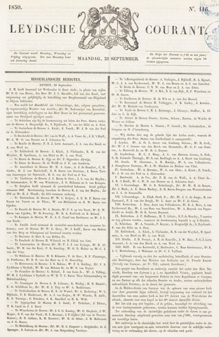 Leydse Courant 1850-09-23