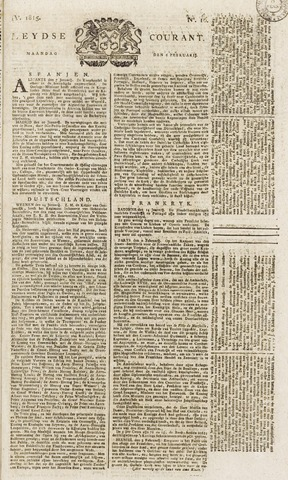 Leydse Courant 1815-02-06